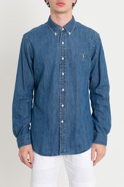 abe0b40de82 Imágenes de Polo Ralph Lauren Denim Shirt Slim Fit