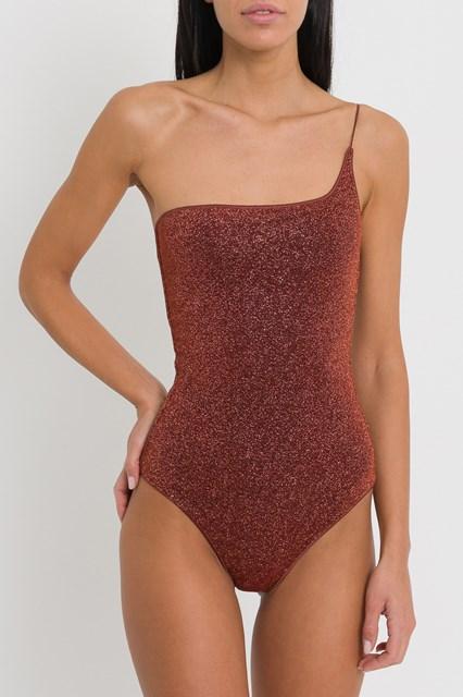 e331e559698 Women Maillot one shoulder lurex swimsuit disponibile su ...