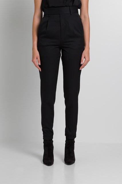 3d207fc1ca4 Women High Rise Pants in Wool Twill disponibile su gaudenziboutique.com