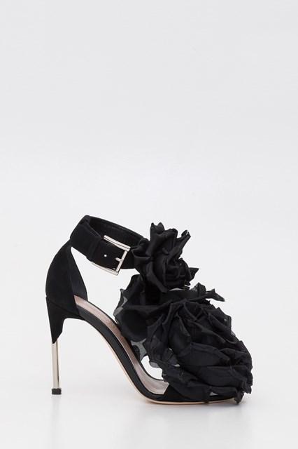 Embellished Sandals Black available on