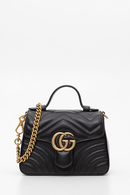 d1e31d5ac Women GG Marmont mini top handle bag disponibile su gaudenziboutique.com