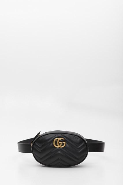 6ad7359c3d83d5 Women GG Marmont Matelassé Leather Belt Bag disponibile su ...