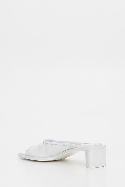 Leather Mules White available on