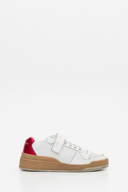 SL24 Sneakers in Leather White