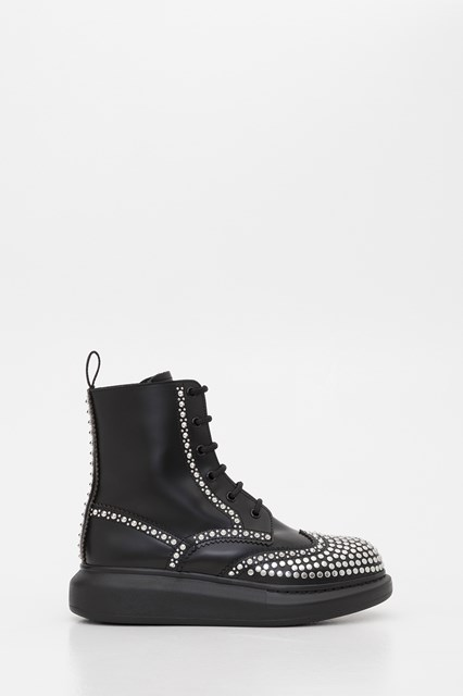 Ankle Boots with Studs Black available