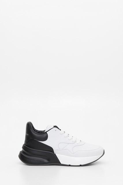 Two-Tone Runner Sneakers White/black