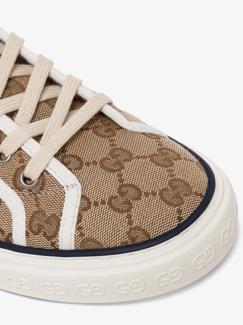 Gucci Tennis1977 High Sneakers Beige