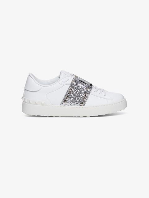 Rockstud Untitled Glitter Sneakers