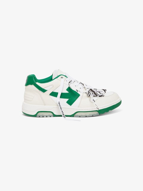 Out of Office Leather Sneakers White